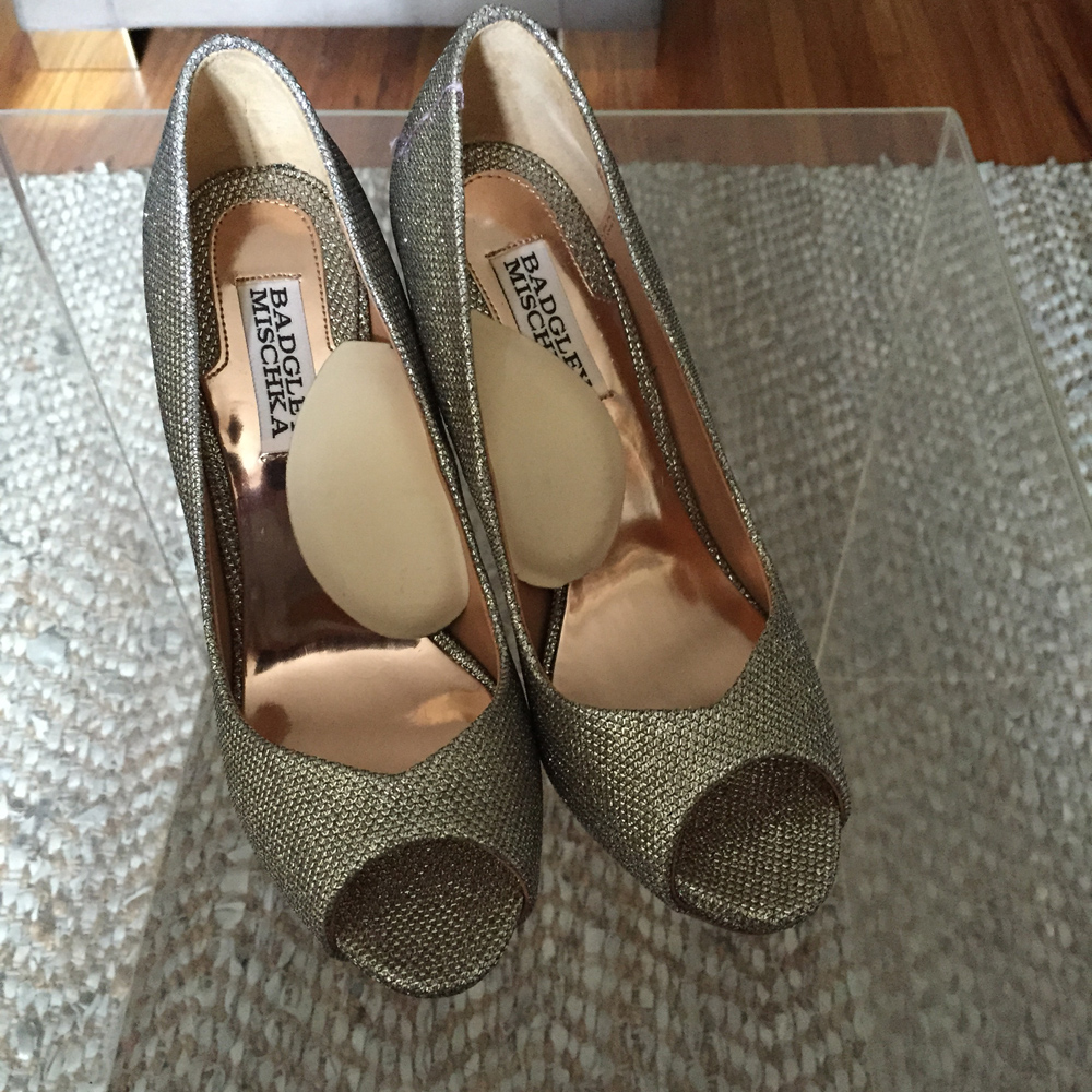 Badgley Mischka Heels with Instant Arches