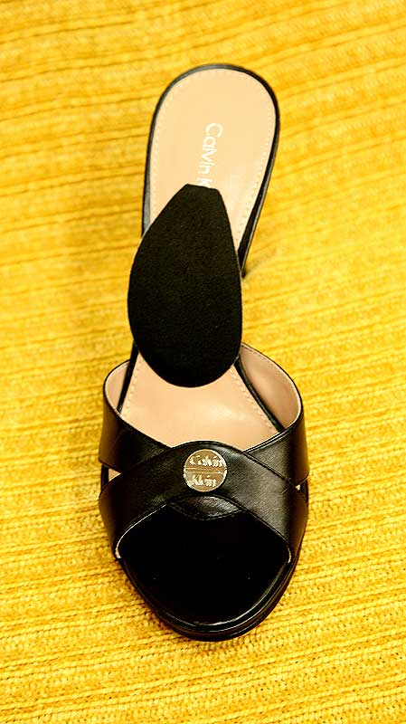 Calvin Klein Heel with Instant Arches