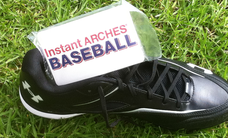 Baseball Cleats with Instant Arches