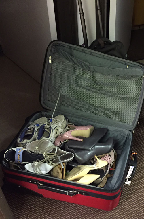Suitcase of Shoes - Arch Supports