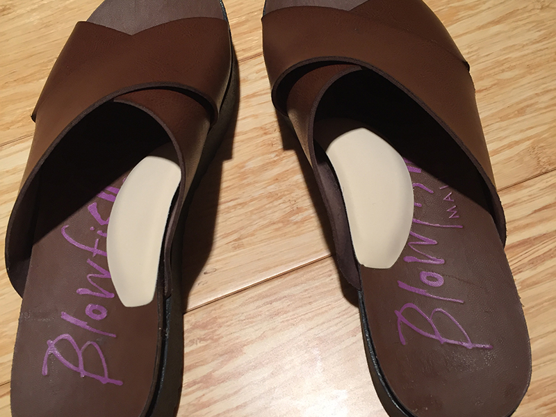 Brown Sandals with Instant Arches