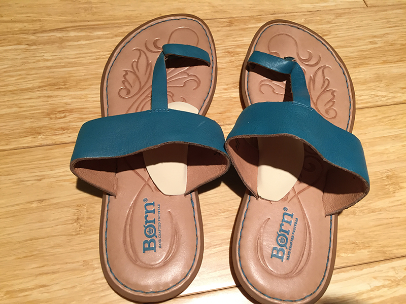 Born Sandals with Instant Arches
