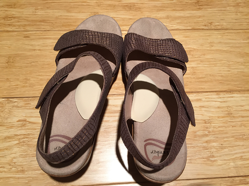Strap Sandals with Arch Supports