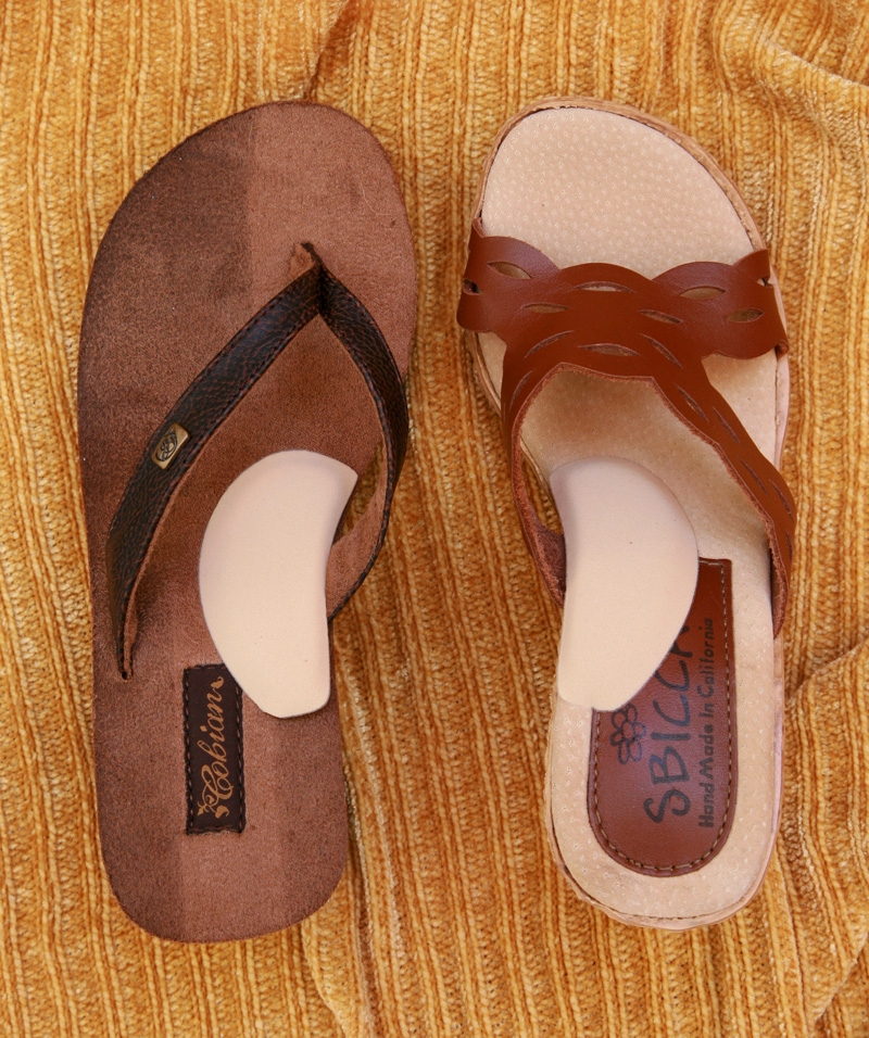 Pair of Sandals with Arch Supports