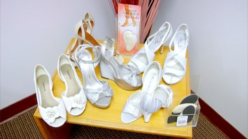Wedding Shoes for Instant Arches