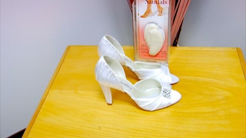 Arch Supports for Comfortable Wedding Shoes